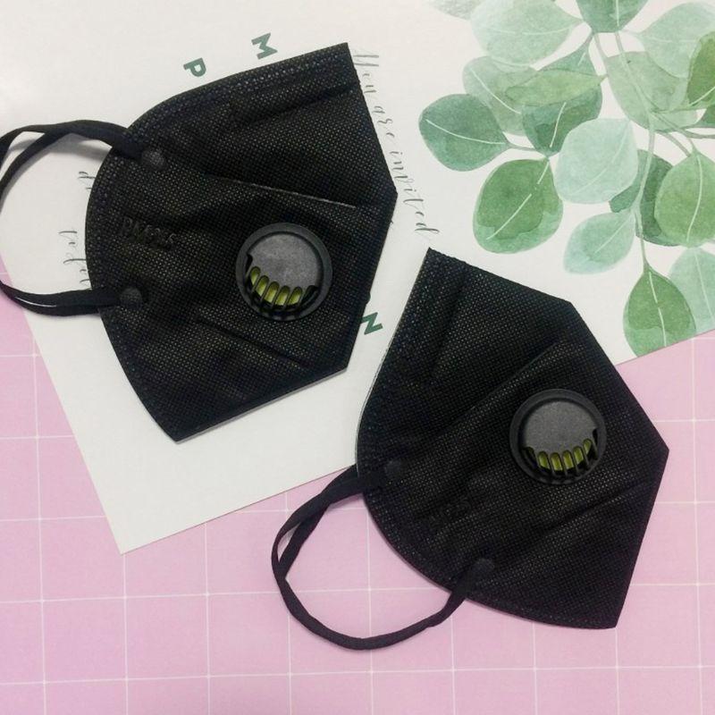 Bekleidung Zubehör Einweg Pm2.5 Anti Verschmutzung Mund Maske 3 Schicht Nicht-woven Mit Filter Solide Mund Maske GroßE Auswahl; Masken