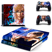 New Vinyl Skin Decal for Sony PS4 Console and 2 Controllers Skin