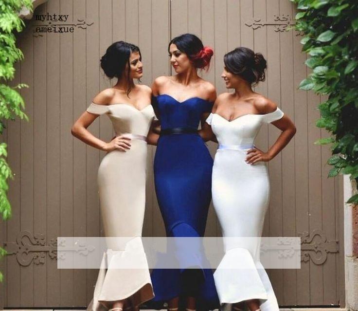 Hot Offer 2721 Royal Blue 2019 Cheap Bridesmaid Dresses