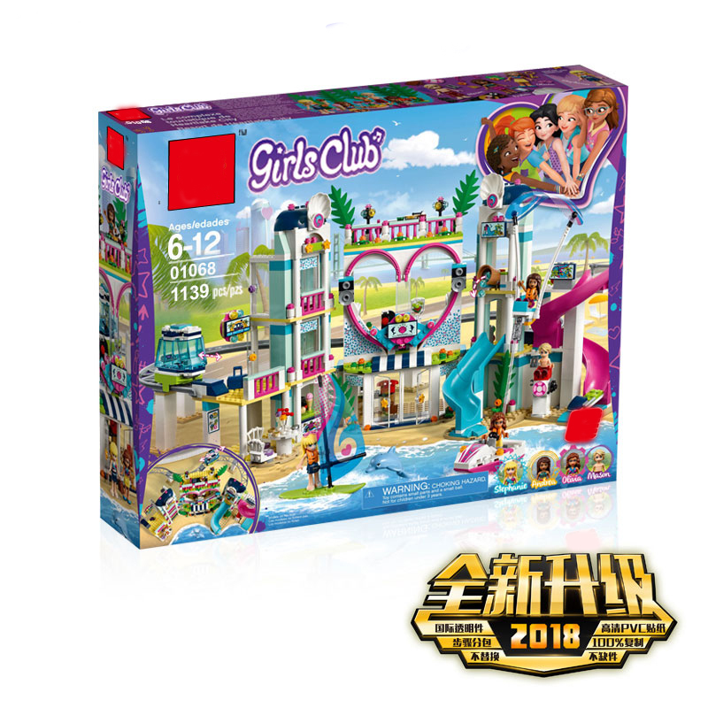 New Friends The Heartlake City Resort Compatible Legoingly Friends 41347 Building Block Brick Toys Girl Children Christmas Gifts