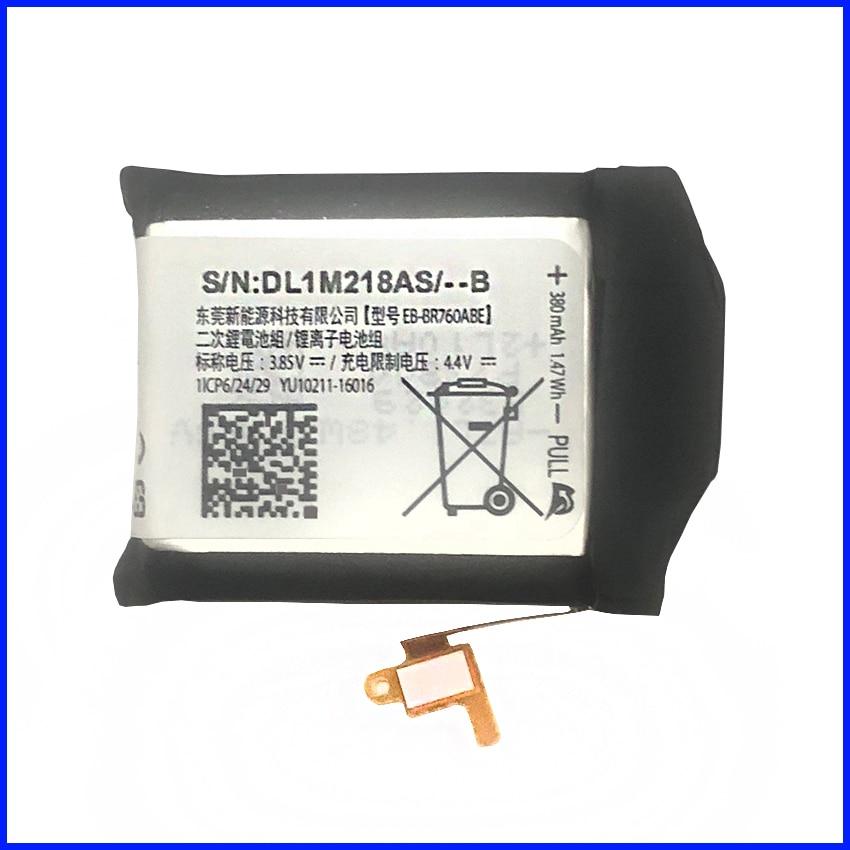 380 mAh Dorigine EB-BR760ABE Pour Samsung Gear S3 Frontier/Classique EB-BR760A SM-R760 SM-R770 SM-R765 SM-R765S batterie380 mAh Dorigine EB-BR760ABE Pour Samsung Gear S3 Frontier/Classique EB-BR760A SM-R760 SM-R770 SM-R765 SM-R765S batterie