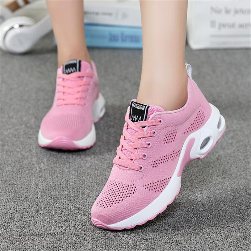Hot selling Sports shoes Four seasons New Style women sneakers lightweight athletic shoes Breathable Sport Running