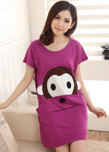 Free Shipping sleepwear lovely princess leisurewear sleepdress women   nightgown     sleepshirt   nightwear