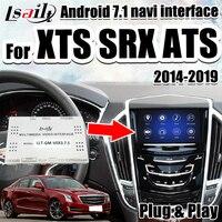 Android 7.1 Video Integration Interface for Cadillac XTS SRX ATSAndroid GPS Navigation box support apple carplay by Lsailt
