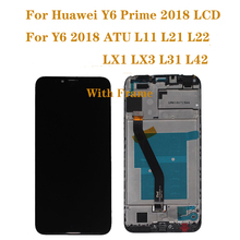 For Huawei Y6 2018 LCD display Touch Screen Digitizer Assembly for y6 prime 2018 lcd ATU L11 L21 L22 LX3 Repair kit