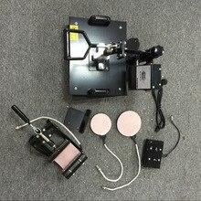 5 In 1 combo heat transfer machine t shirt heat printing machine