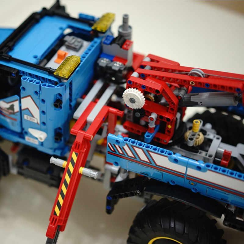 20056 1912 PCS Serie Technic Il Massimo All Terrain 6X6 Camion di Controllo Remoto Set Building Blocks Giocattoli Dei Mattoni auto 42070