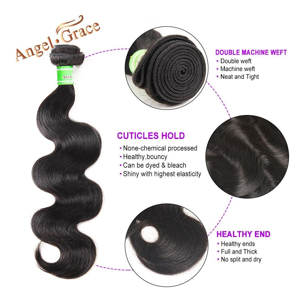 Braziliaanse bodywave bundels 1/3/4 stks lot 100% menselijk haar - Mensenhaar (voor zwart) - Foto 3