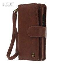 Jdble многофункциональный бумажник кожаный чехол на молнии кошелек чехол телефон случаях телефон Кошелек Леди Сумочка для Huawei P9 lite случае JS0234