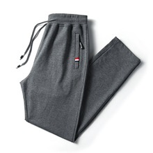 2019 spring explosion models mens fashion cotton loose straight pants large size S-4XL stretch comfortable casual
