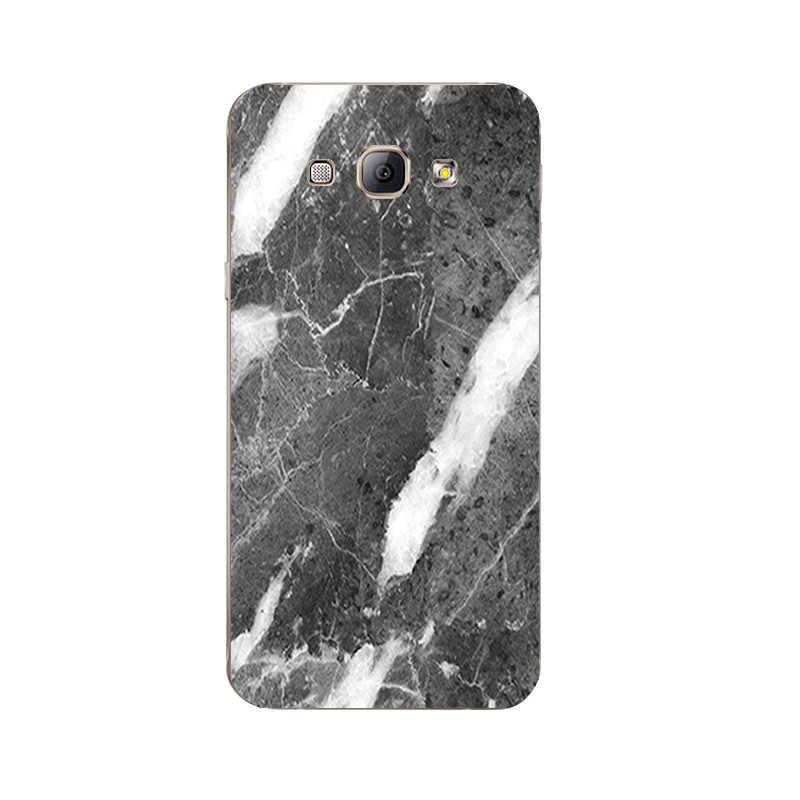 Für Samsung Galaxy A7 2015 TPU Telefonkasten für A3 A5 A8 2015 Shell Transparent für A300 A500 A700 A800 Abdeckung Mixed Marmor Muster