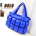 New winter explosion models selling multi pocket padded shoulder bag lady European and American fashion handbags