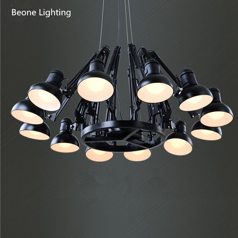 Replica Ron Gillad Dear Ingo Suspension Light Free Shipping E27 12 heads Modern Country living room Spider Pendant Lights lamp maarja undusk päkapikk ingo
