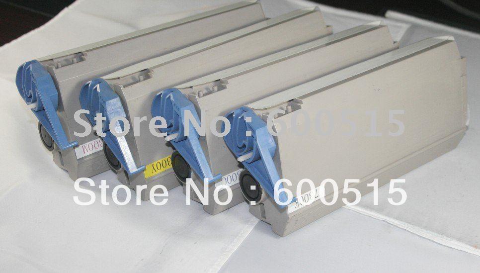 Cartridge Toner warna Kompatibel untuk OKI C7300 C7350 C7500 C7550 - Elektronik kantor