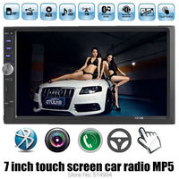 2015 NEW 7 Inch LCD Touch Screen Car Radio Player BLUETOOTH Hands Free 1080P Movie Rear