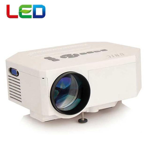 Genuino UNIC UC30 Digital de Vídeo LED 3D HD Mini Proyector es compatible con 1080 P de cine en Casa Perfecto Proyector proyector beamer