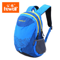 Hewolf 18L Waterproof Nylon Travel Child Backpack Portable Outdoor Sports Camping Rucksack Ultralight Student Shoulder Bag