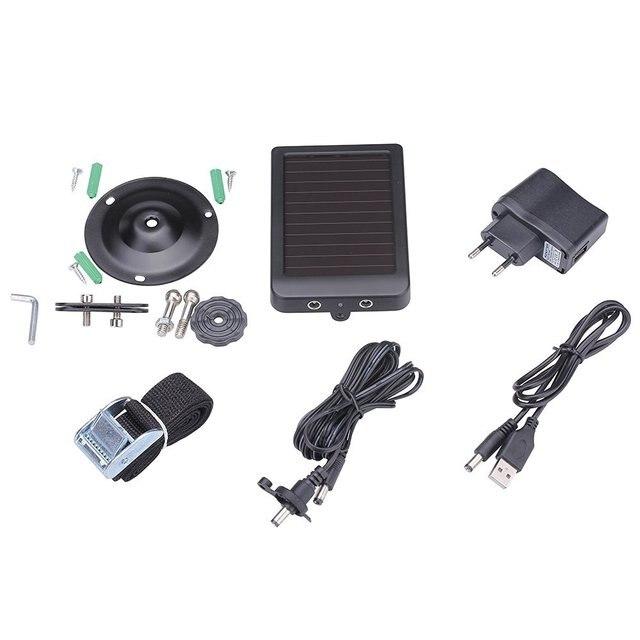 Outdoor Solar Panel 1500mah 9V Solar Power Supply Charger Battery for  Suntek HC300 HC500 HC700  Trail Cameras 6
