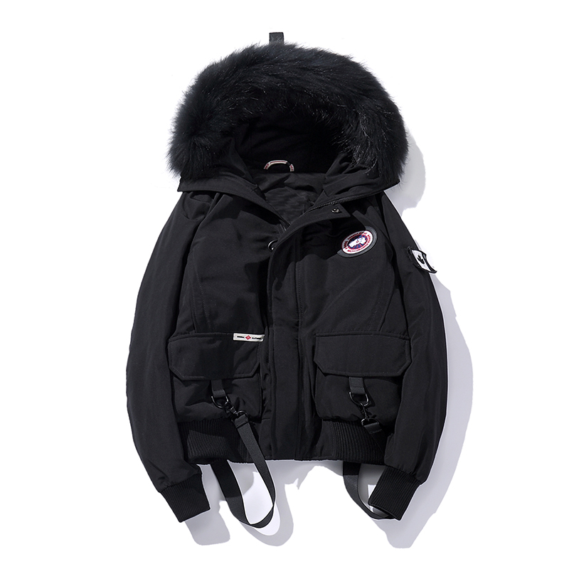 Men parkas winter 2017 Men Padded Parka Cotton Coat Winter Jacket Mens Fashion Winter Coat Thick Parka Hooded Fur Collar Outwear winter jacket men warm coat mens casual hooded cotton jackets brand new handsome outwear padded parka plus size xxxl y1105 142f