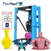 Tianfour 101 hero mini 3D Printer for beginner level user Desktop DIY Kit impresora 3d printer pk Reprap prusa i3 anet a6 a8