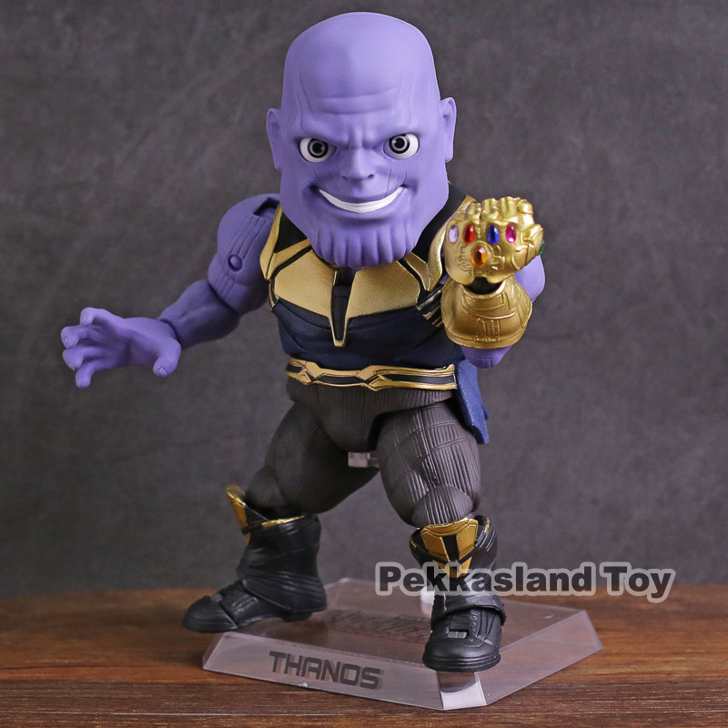 Beast Kingdom Marvel Avengers Infinity War Thanos Egg Attack Action EAA-059 PVC Action Figure Collectible Model Toy цена