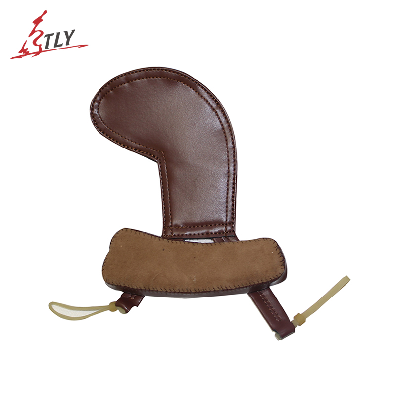 Newest TONGLING Super Softness 2 in 1 Calfskin Violin Shoulder Rest & Chin Rest Pad Professional Violin Parts Free Shipping