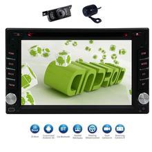 Android 6.0 Car DVD radio Audio GPS Navigation 2DIN Car CD headunit autoradio Android6.0 Car GPS wifi USB Player+free MAP+camera