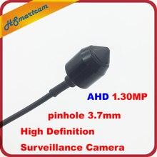 Высокое разрешение 3.7 мм Пинхол объектив наблюдения AHD Камера 1200tvl ahdm 1.30mp 720 P AHD CCTV Мини Камера безопасности Крытый DC12V