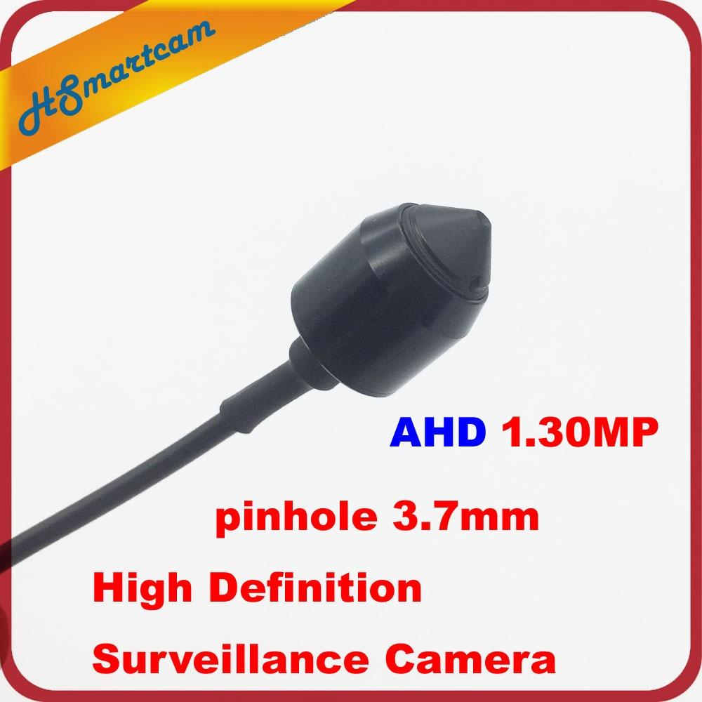 High Definition 3.7mm pinhole Lens Surveillance AHD Camera 1200TVL AHDM 1.30MP 720P AHD CCTV Mini Camera Security Indoor DC12V