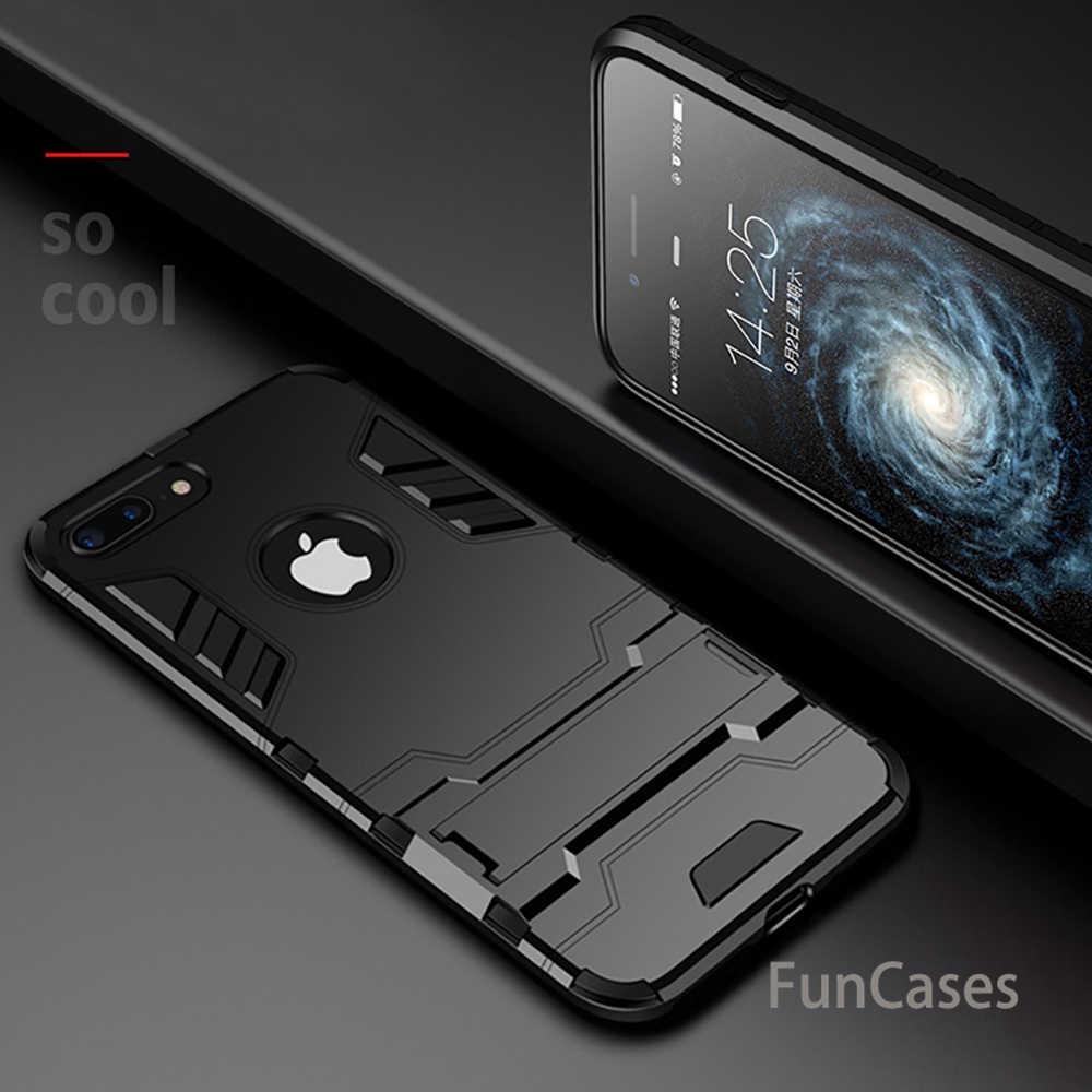 Противоударный Броня телефона чехол для Apple IPhone X 8 7 6 S 6 плюс 5 5S SE Дело ТПУ защитный Жесткий Мода чехол для iPhone 10