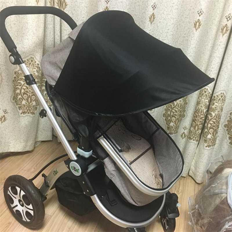 Детская коляска солнцезащитный козырек чехол для коляски Аксессуары для коляски автомобильное кресло Багги коляска крышка Солнцезащитный капюшон B