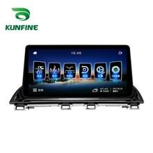 Quad Core 1024*600 Android 6.0 Car DVD GPS di Navigazione Lettore Deckless Auto Stereo per Mazda 3 Axela 2014 -2018 Headunit Radio