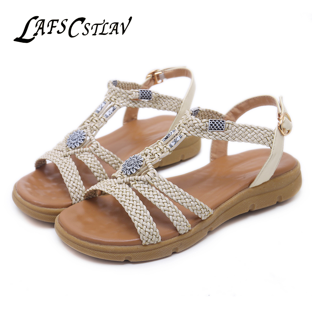 9c7976617 Flat Beautiful CSTLAV Shoes Shoe Beach Casual Heel Platform Sandal Ladies  Wedge Comfortable Sandals Women LAFS ...