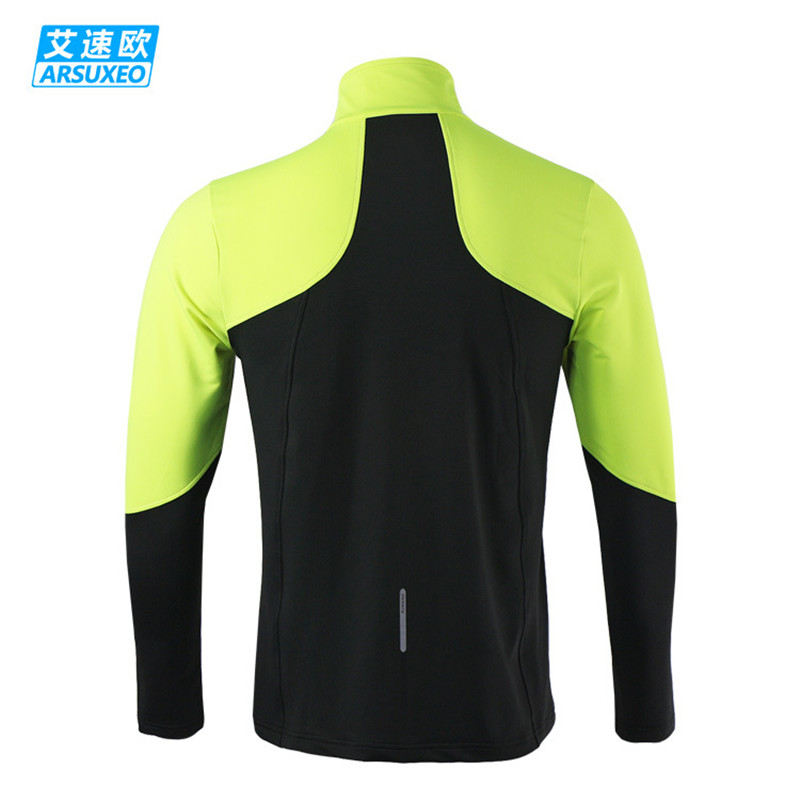 ARSUXEO Dry Fit Running Shirt Ανδρών Ποδηλασία Jersey - Ποδηλασία - Φωτογραφία 5