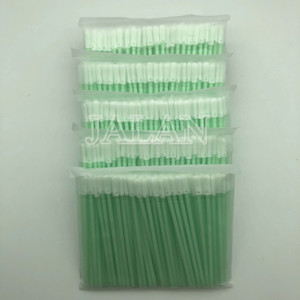 Image 2 - 100pcs/bag Pro Dust Free Disposable Cleaning Swab Cotton Stick For Headphone Mobile Phone Charge Port Cleaning