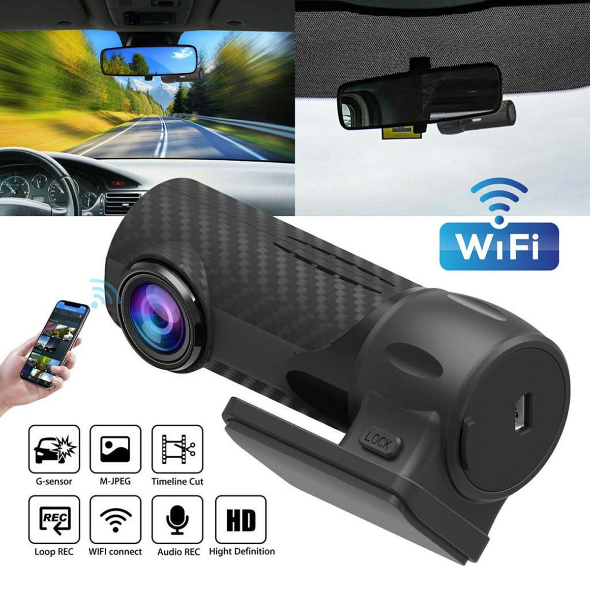 Car DVR Parking-Camera WIFI Mini 170-Degree Super WDR Built-In 6-25V 6G Glass-Lens