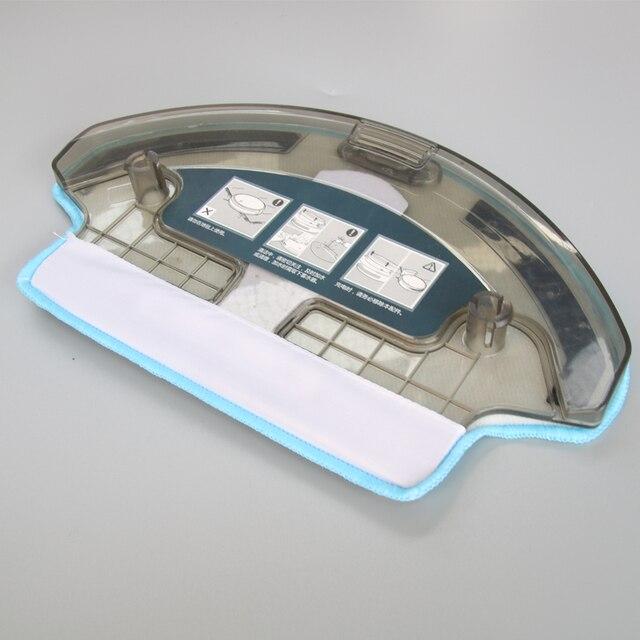 1x zbiornika wody + 1x ścierka do mopa dla Ecovacs Deebot DT85G DT85 DT83 DM81 DE35 części do robota odkurzającego wymiana zbiornika wody