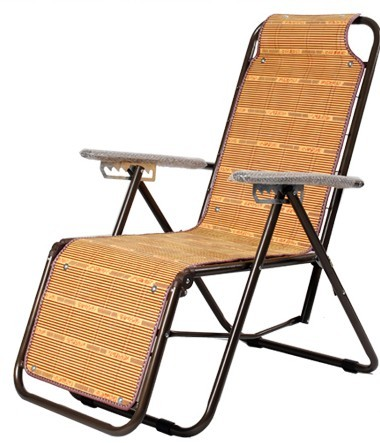 Mats Summer Siesta Nap Bed Folding Recliner Chairs Office Casual Outdoor  Portable Chair Bamboo Elderly