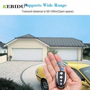 Image 2 - KEBIDU 433Mhz Rolling Code Remote Duplicator Garage Door Remote Control Opener Electric Face to Face Car Gate Transmitter