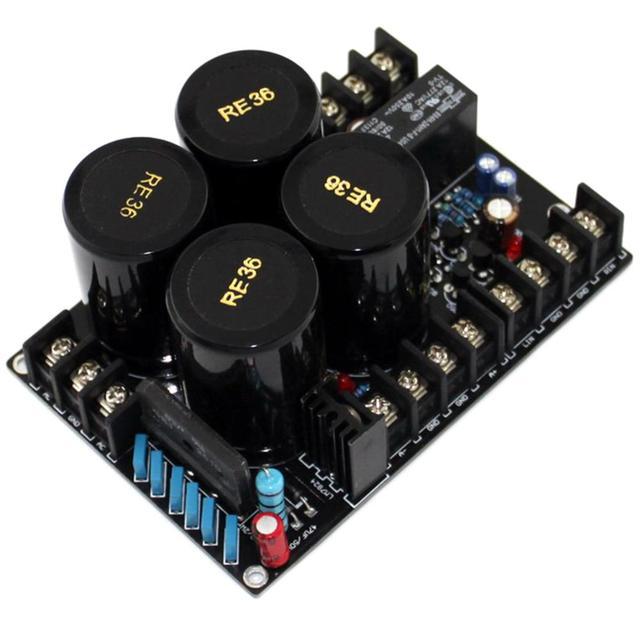 Redresseur de condensateur de filtre 4x10000 uF/50 V + carte intégrée de Protection de haut-parleur YJ0009