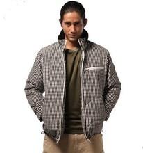 2015 Hot Sale Real Freeshipping Men  Men's Outdoor Winter Light Waterproof Coat Warm Wadded Jacket B-swmm-00polyester