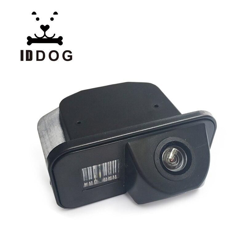 IDDOG voiture vue arrière CCD caméra de stationnement grand Angle objectif adapté pour Toyota/Corolla 2011 2012 2013 aide au stationnement
