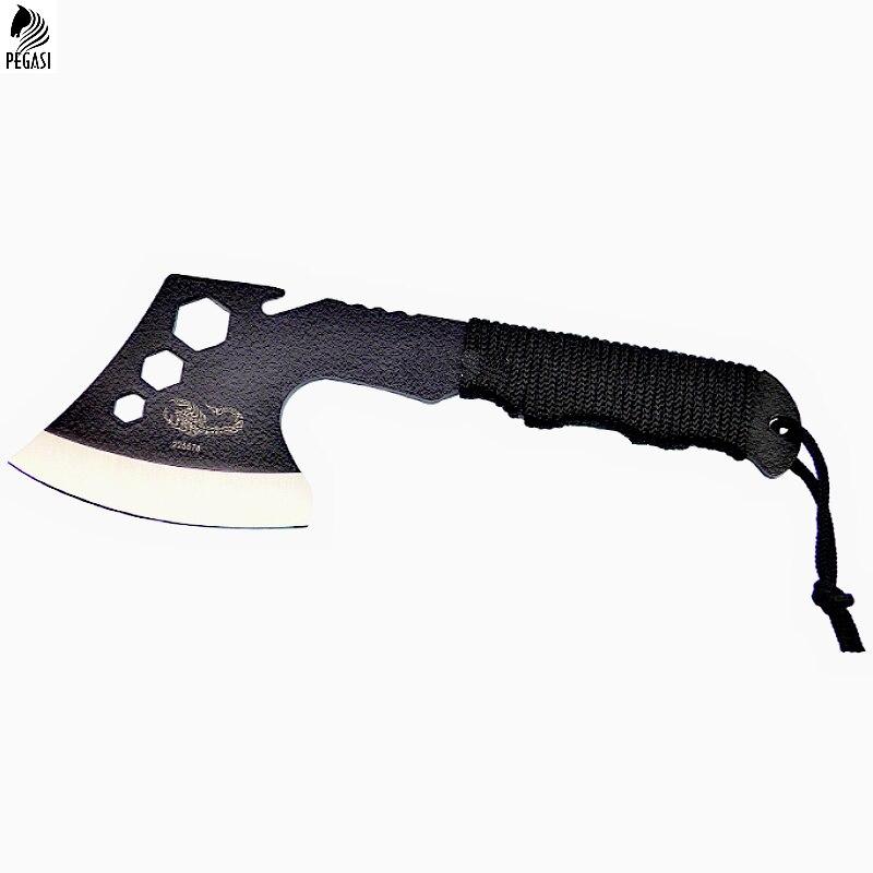 Offen Cs Sharp 076 Überleben Tomahawk Achsen Hatchet Camping Hand Feueraxt Ausbeinmesser Für Hacken Fleisch Knochen Elegant Und Anmutig Werkzeuge Axt