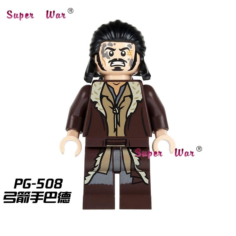 20pcs star wars superhero The Hobbit Bard the Bowman movie building blocks action figure bricks model educational diy baby toys