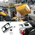 Destacável Two-UP Pak Tour de Montagem Em Rack Prateleira Traseira para Harley Road King Touring FLHR FLHT FLHX Rua Desliza FLTR 2009-2015 nova