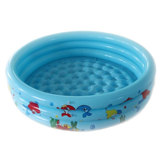 4 Colors 0-3 Years Old Baby Ocean World Inflatable Round Swimming Pool Bath Swimming Pool For Baby Kids