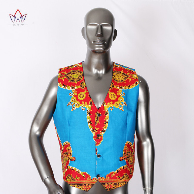 Brand Clothing African Clothes Mens Printed Blazer Men Jacket + Vest Fashion Slim Suits Dashiki Men Large Size 6XL Blazer WYN176 4