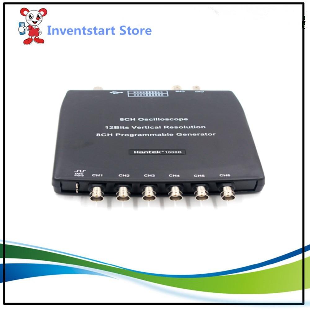Hantek  1008B Digital Oscilloscopes Programmable Generator Vehicle Testing 2.4MSa/s USB 8Channels Osciloscopio запонки arcadio rossi 2 b 1008 13 e