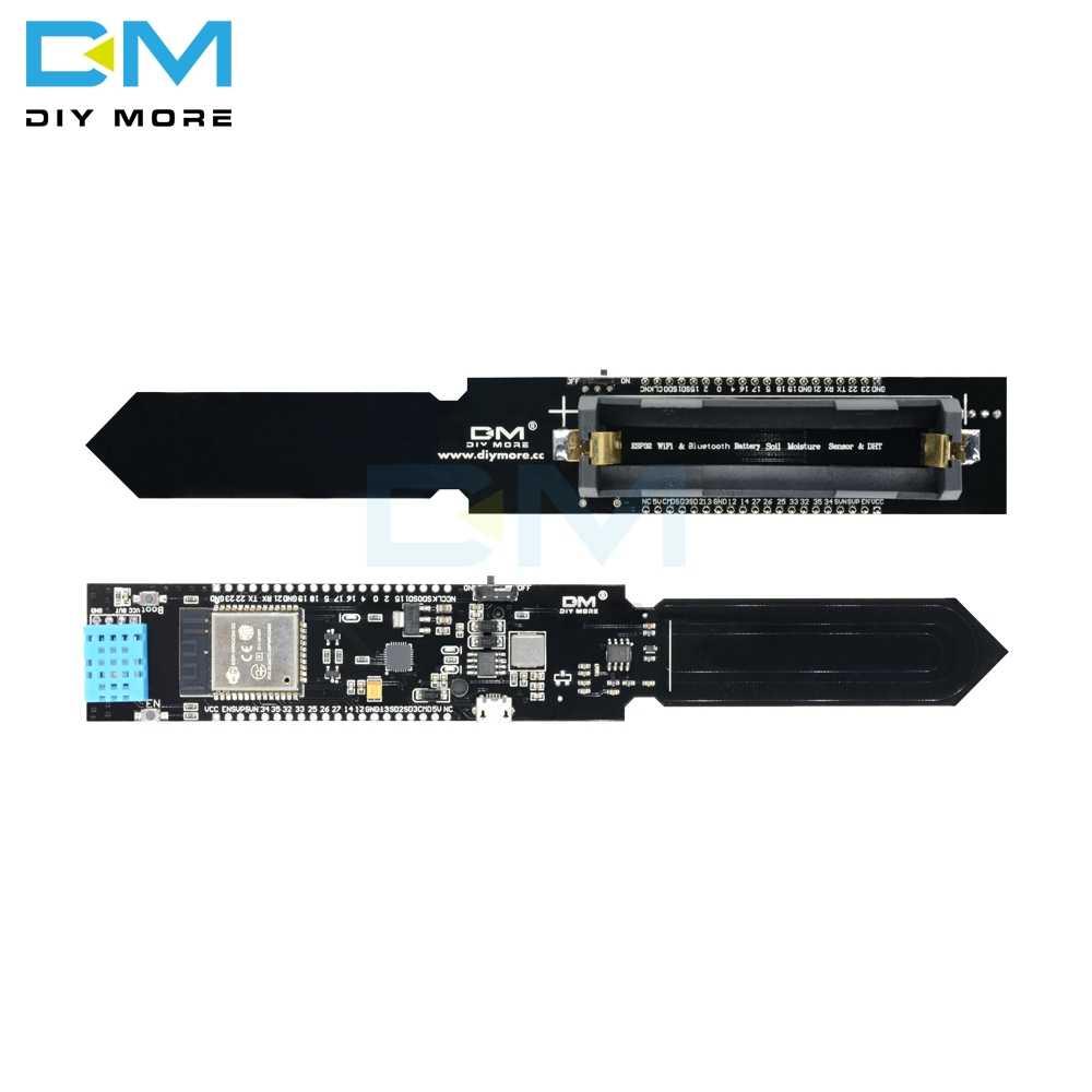 ESP32 DHT11 Soil Hygrometer Detection Probe Module Moisture Sensor For Arduino