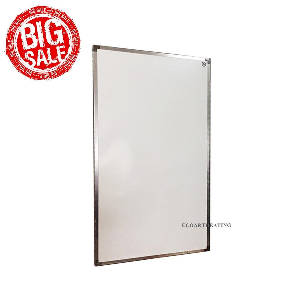 Rabais! 450W blanc infrarouge panneau chauffages électriques radiateurs muraux